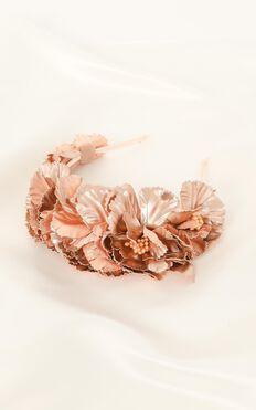Rosie Headband In Rose Gold