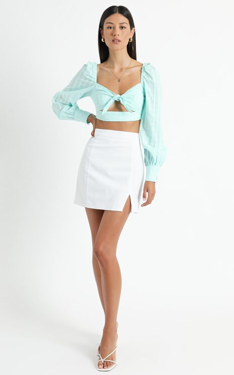 Jacquie Top in Mint
