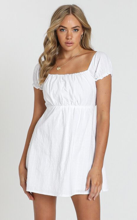 Finding Friends Dress in White