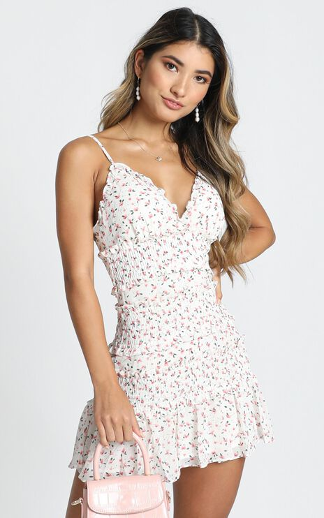 The Final Night Dress In White Floral