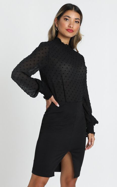 Delilah Top in Black