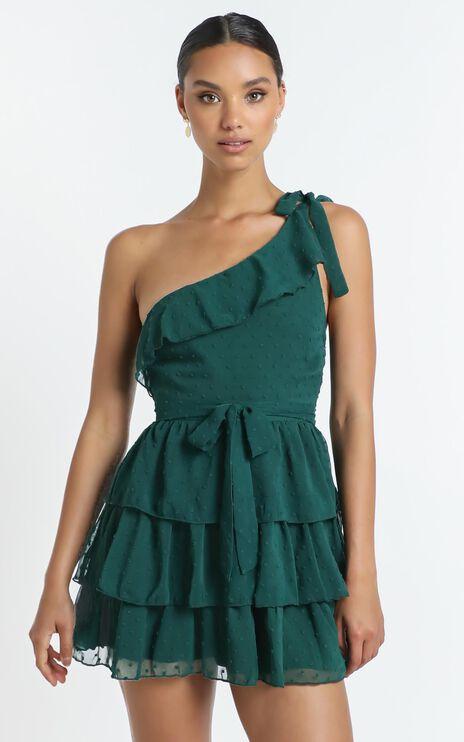 Darling I Am A Daydream Dress in Emerald
