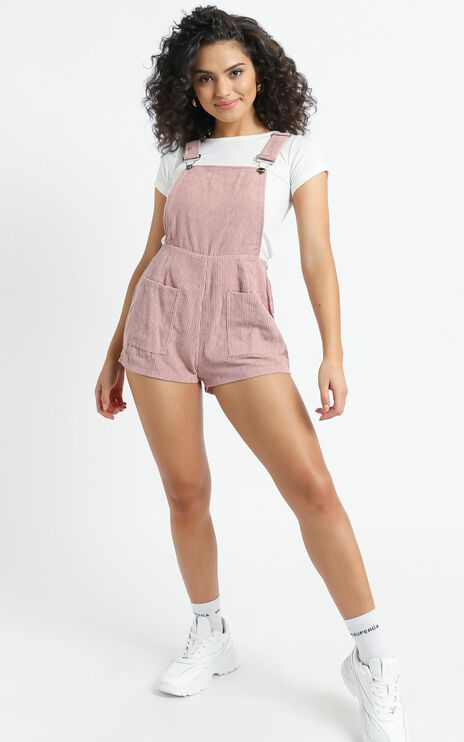 Likely Story Overall In Blush Cord