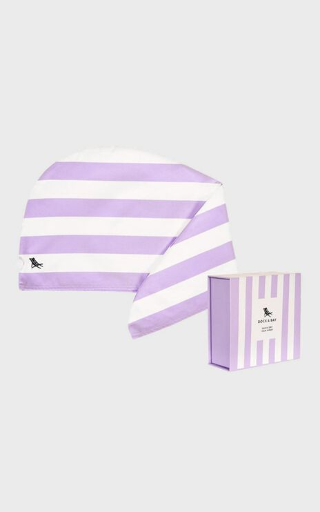 Dock & Bay - Hair Wrap Cabana Collection in Lombok Lilac