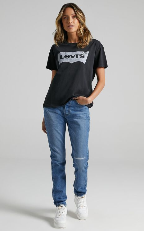 Levis - Vintage Authentic Batwing Tee in Caviar
