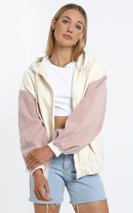 Zya The Label - Snugglepot Hoodie in Cream