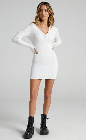 Malone Dress in White