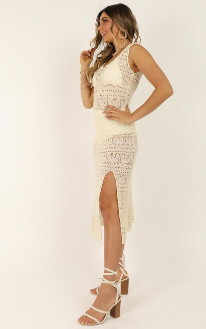 Come As Yourself Dress In cream - 20 (XXXXL), Cream, hi-res image number null