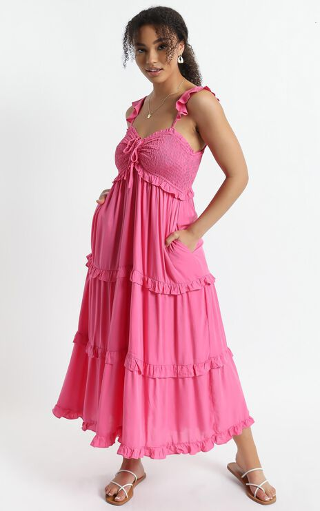 Good For The Soul Dress In Pink