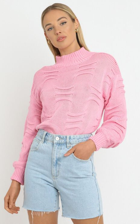 Laura Knit in Pink