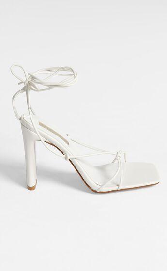 Billini - Clarissa Block Heels in White