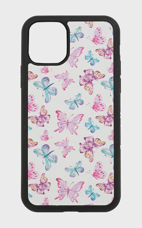 Georgia Mae - The White Butterfly Iphone Case