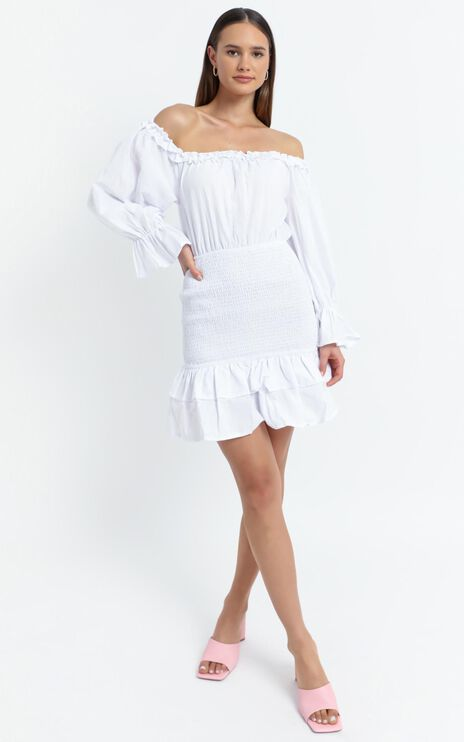 Lizabeth Dress in White