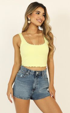 Problem Child Top In Yellow