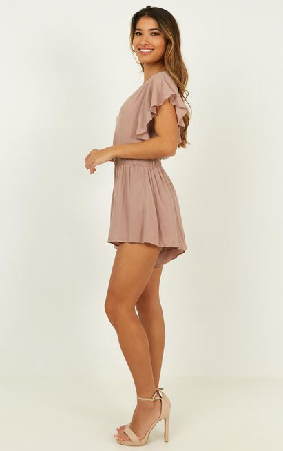 Finding Time Playsuit in mocha - 4 (XXS), Mocha, hi-res image number null