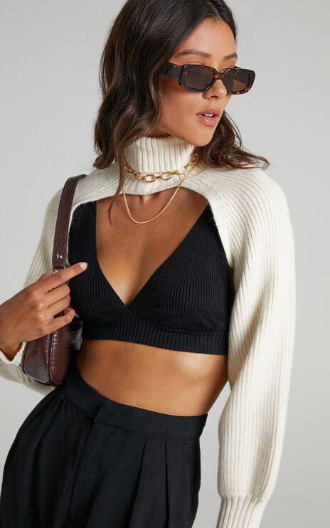Jazzie Knit Jumper in Cream