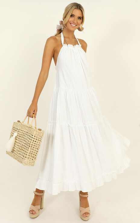 Where You Belong Dress In White