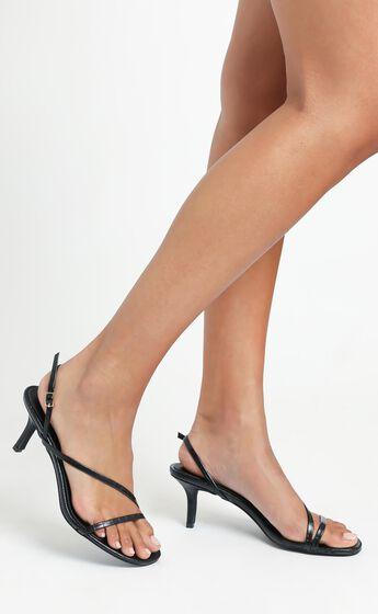 Billini - Winx Heels in Black Croc