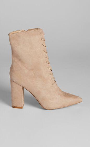 Verali - Danielle Boots in Blush Micro