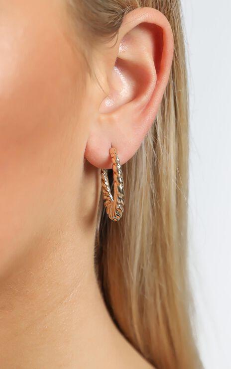 Nora Earrings in Gold