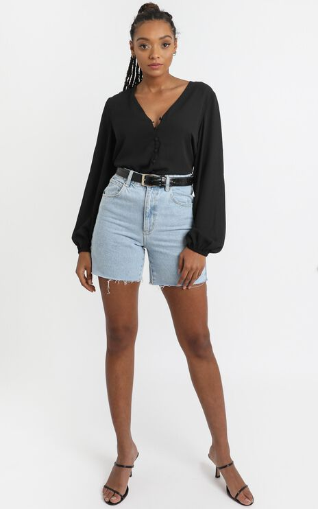 Cant Control Myself Top In Black