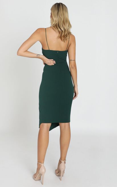 Life Changing Dress In Emerald Green - 4 (XXS), Green, hi-res image number null
