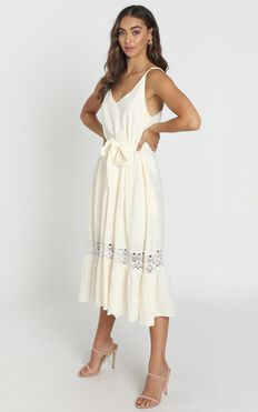 Brittany Dress in Cream