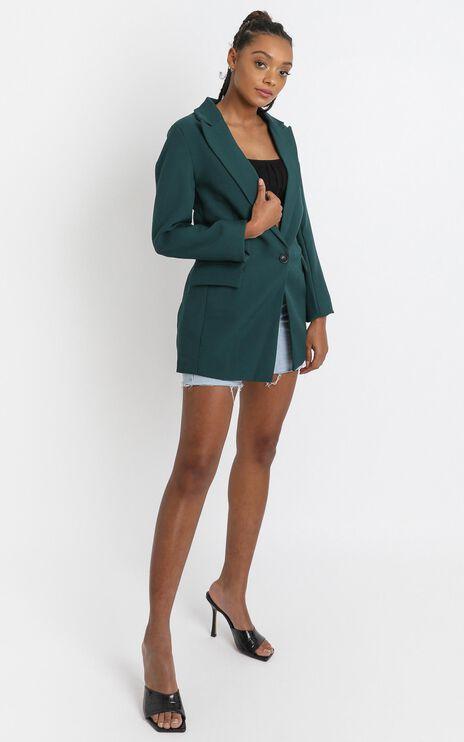 Gabrielle Blazer in Emerald