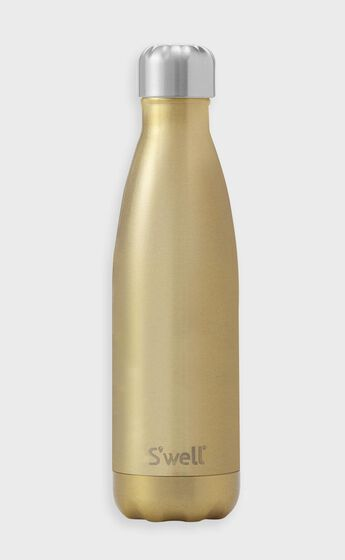 S'well - Glitter Collection 500ml Water Bottle in Sparkling Champagne