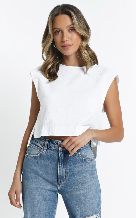 Bronwen Top in White