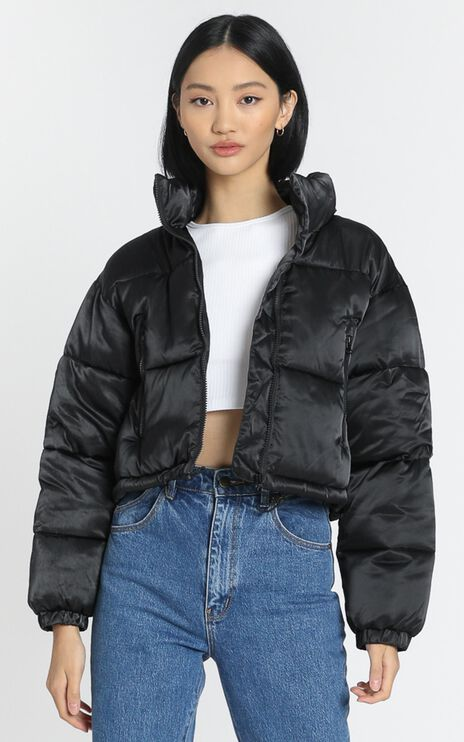 European Dream Puffer Jacket in Black