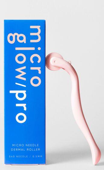 Micro Glow - PRO Derma Roller in Pink