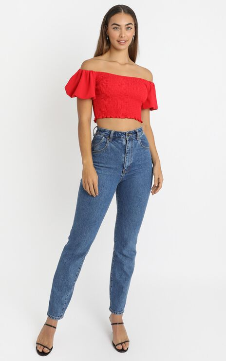 Adanya Top in Red