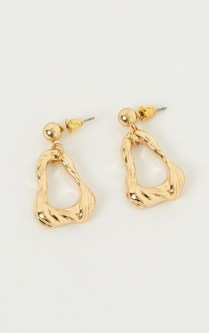 Start All Over Earrings In Gold, , hi-res image number null