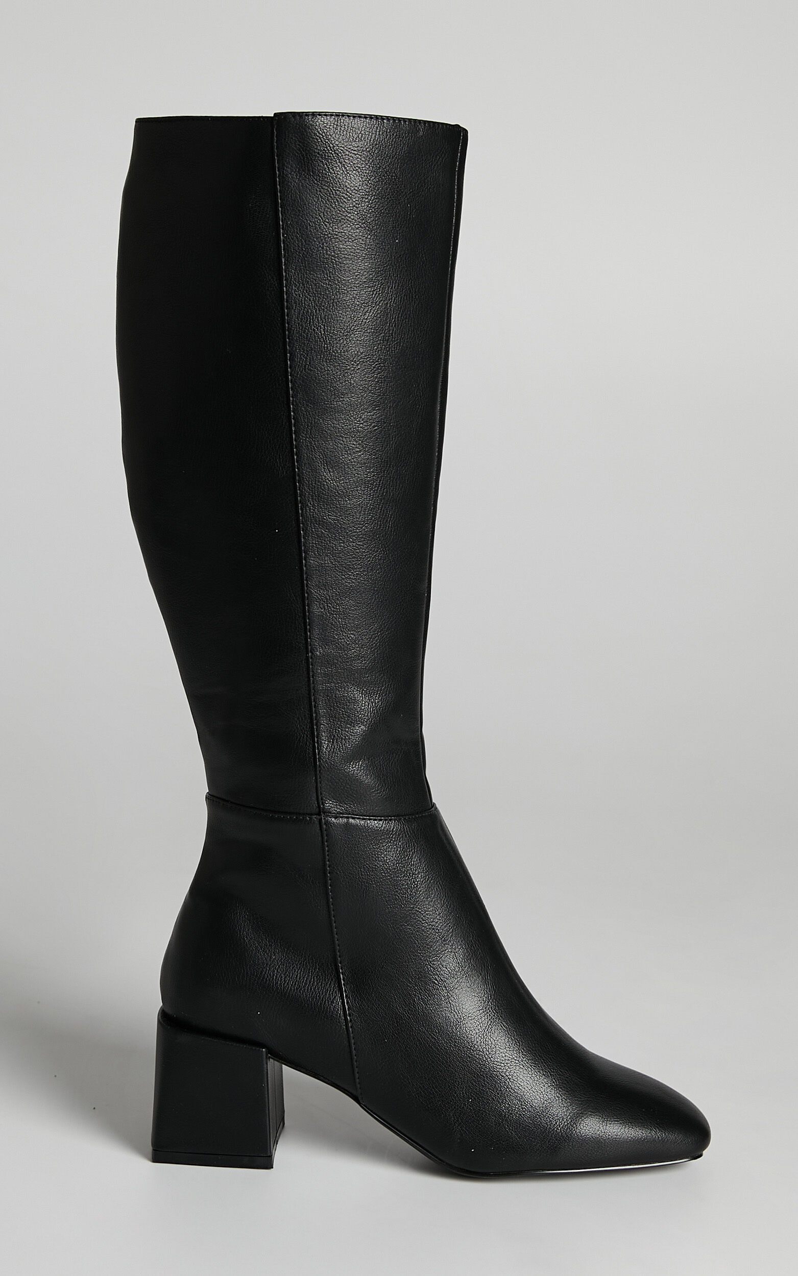 Therapy - Wolf Boots in Black Matte PU - 05, BLK1, super-hi-res image number null