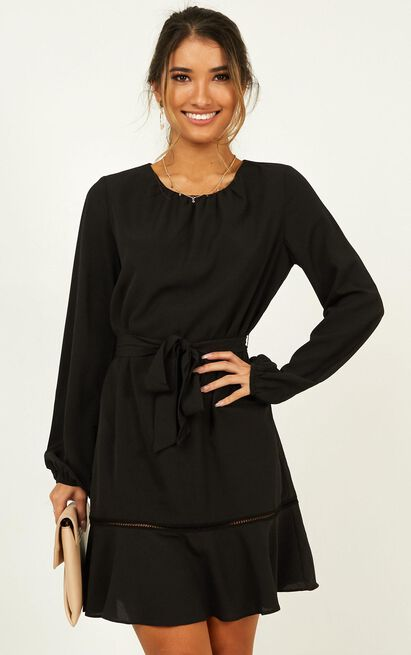 Real Achiever Dress in black - 20 (XXXXL), Black, hi-res image number null