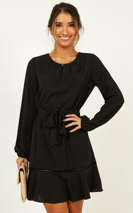 Real Achiever Dress In Black