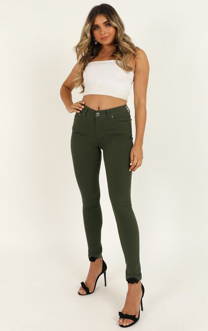 Fill Me In jeggings in khaki - 20 (XXXXL), Khaki, hi-res image number null