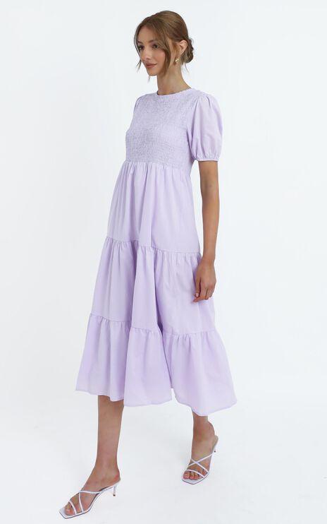 Lorrie Dress in Lilac