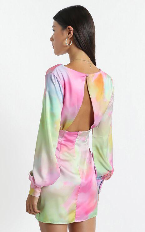 Esma Dress in Marble