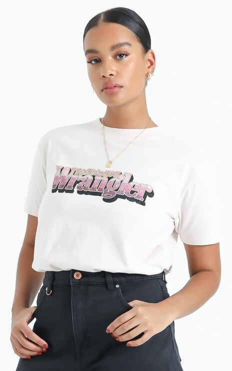 Wrangler - Hyland Tee in Faded Pink