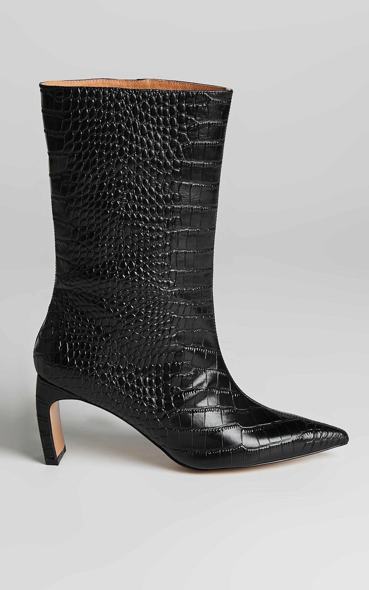 Alias Mae - Jax Boots in Black Croc - 10.5, BLK1, super-hi-res image number null