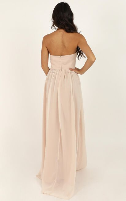 Love Bound Maxi Dress  in champagne - 20 (XXXXL), Beige, hi-res image number null