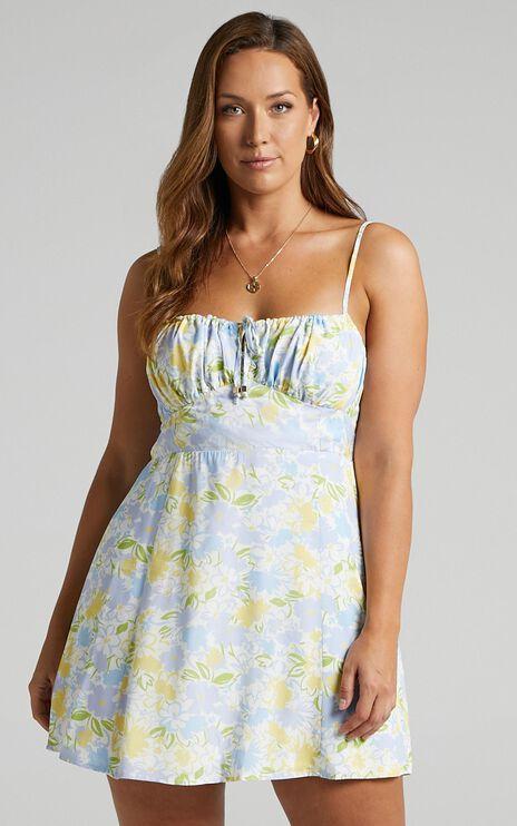 Barreta Dress in Summer Petals