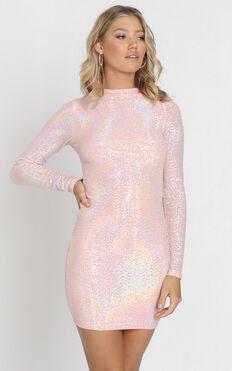 Durham Dress in Pink