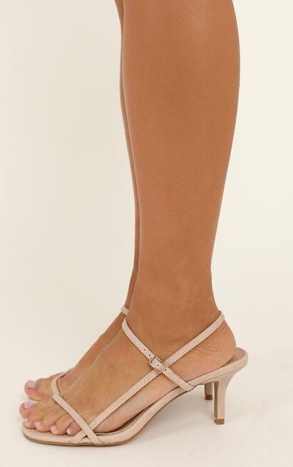 Billini - Wynne heels in blush snake - 10, Blush, hi-res image number null