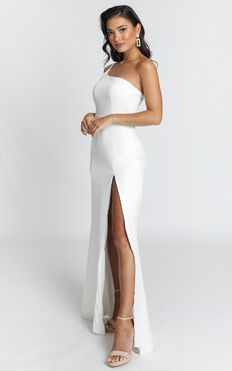 No Ones Fault Dress In White