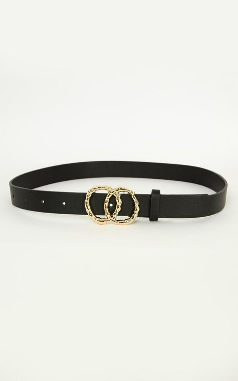 Better With You Belt in Black And Gold