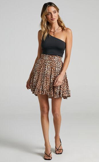 Winslow Skirt in Leopard