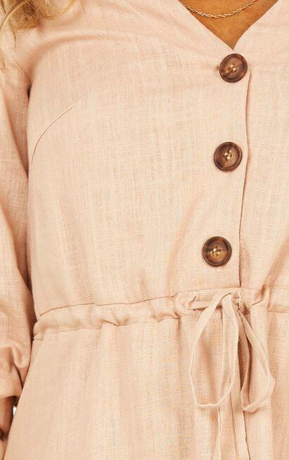Stick With It Dress in beige - 20 (XXXXL), Beige, hi-res image number null
